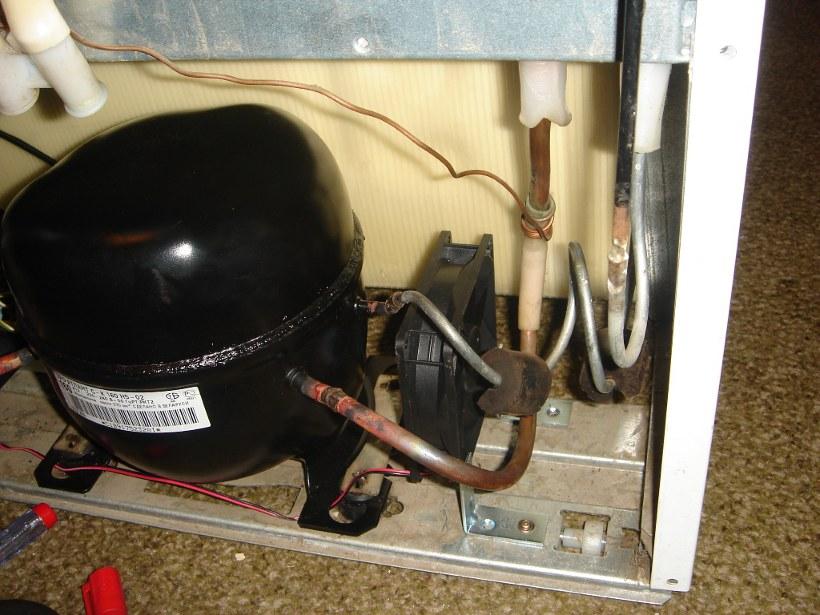 Ремонт и замена компрессора холодильника своими руками