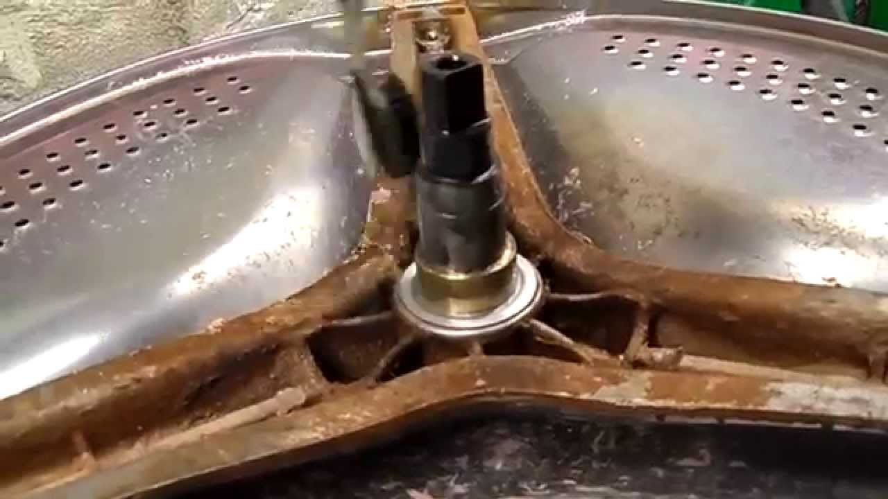 Замена подшипника в стиральной машине атлант своими руками 84