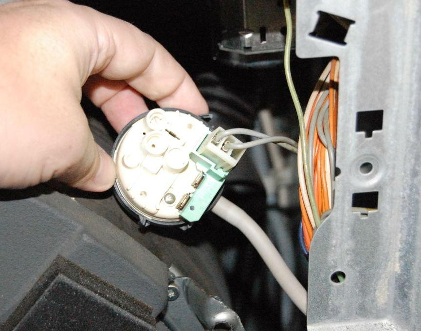 Замена впускного клапана стиралки
